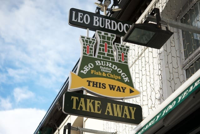 Leo Burdock Sign