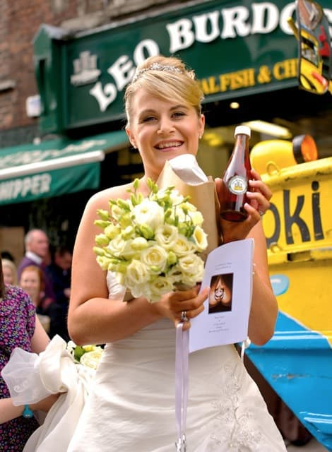Leo Burdock Wedding