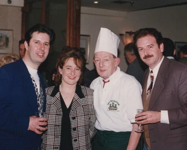 Leo Burdock Gerry Ryan Marty Whelan