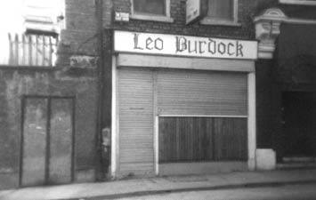Leo Burdock Old Shop Front